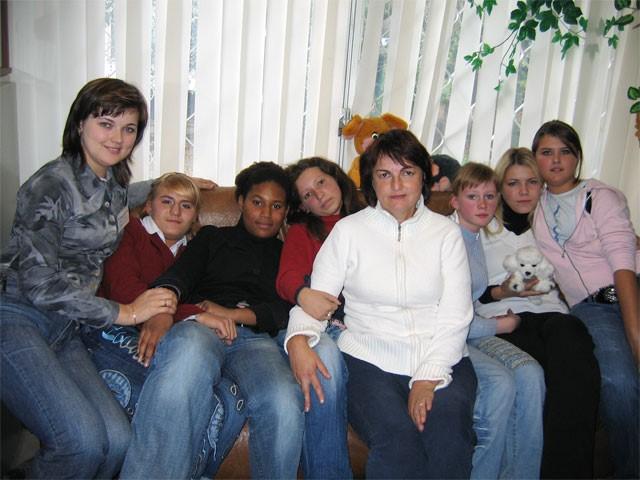 Участники Детской социальной службы прошлого учебного года